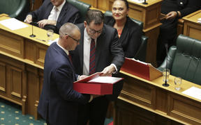 Grant Robertson delivers his 2019 budget speech
