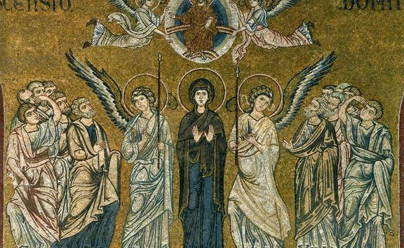 Ascension of Christ, Monreale Cathedral, Palermo