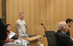 Frank Finch appears in Christchurch District Court.