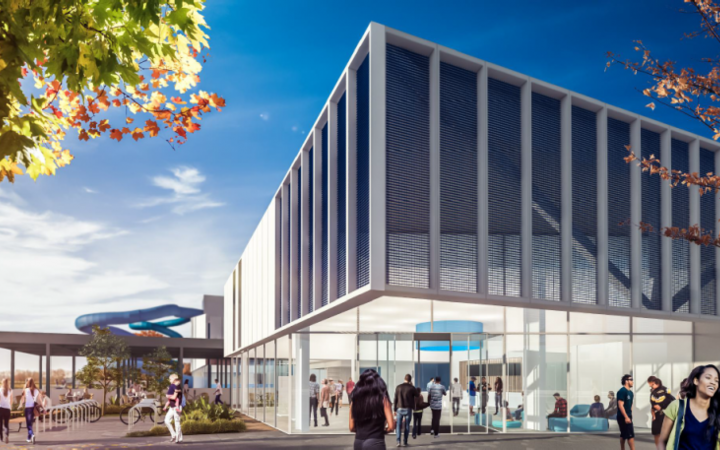 Proposed Napier Aquatic Centre