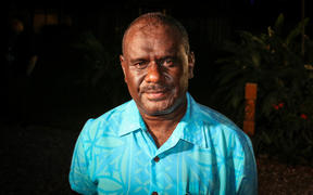 Solomon Islands Minister of Foreign Affairs and Trade, Jeremiah Manele.