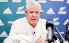 Steve Tew talks about his retirement as NZ Rugby head.