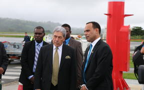 Winston Peters and Ralph Regenvanu