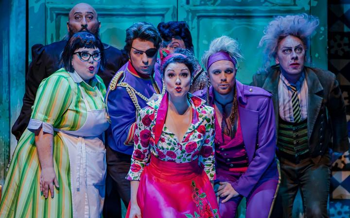 New Zealand Opera's The Barber of Serville principals