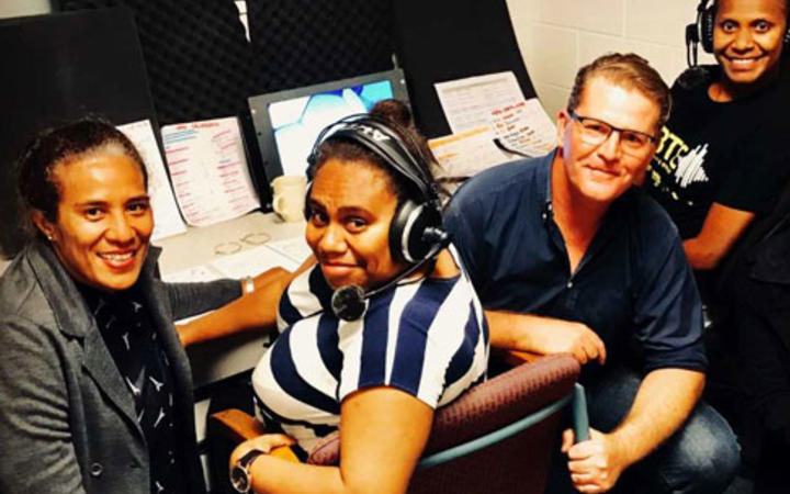 Adele Willie and Jennesa Hinge Moli from Vanuatu and Lavenia Yalovi from Fiji will commentate for FIFA at the Women's World Cup.