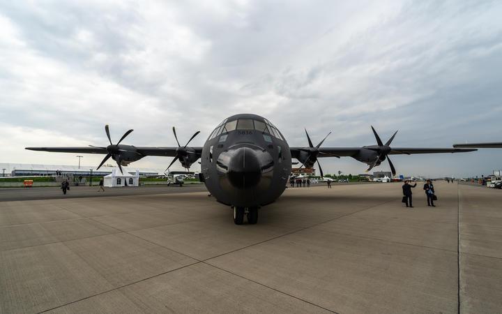 Lockheed Martin C-130J Super Hercules.
