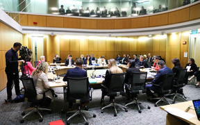 The Education and Workforce Select Committee during an Estimates Hearing for Education.