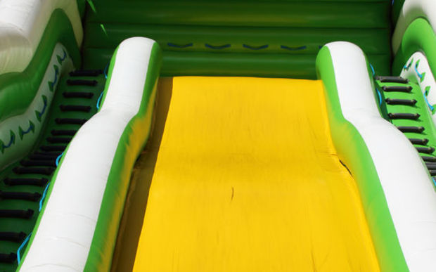 Inflatable slide (stock photo).