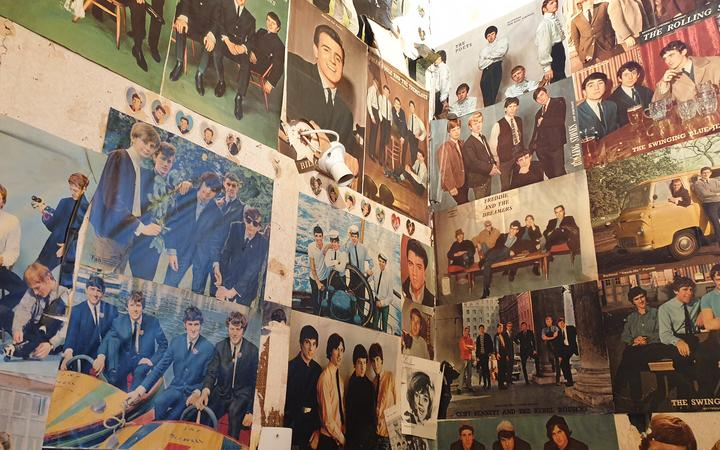 Katey Pittwood was undergoing a renovation of her house in New Plymouth when she discovered a treasure trove of '60s band posters.