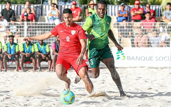 Sport: Tonga to make international beach soccer debut