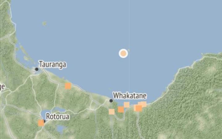 An M 4.2 earthquake struck off the coast of Whakatane at 3.46am on June 20.