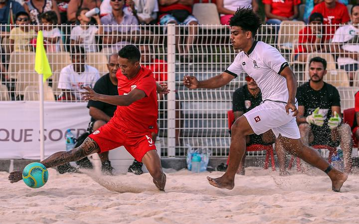 Tahiti put on attacking masterclass at OFC beach soccer nations cup