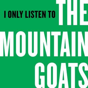 I Only Listen to The Mountain Goats logo