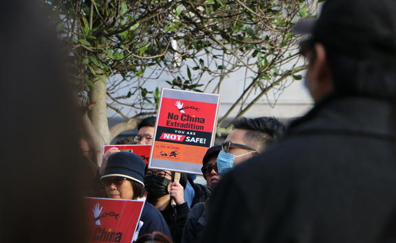 Auckland Hong Kong extradition law protest