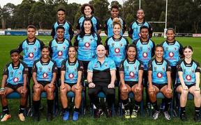 The Fiji Bulikula squad to face Papua New Guinea.