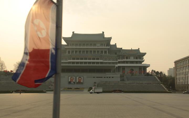 Kim Il-sung Square in North Korea.