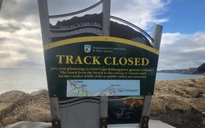 Cape Kidnappers signage
