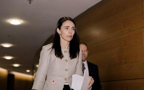 Prime Minister Jacinda Ardern heading to announce the Cabinet reshuffle on 27 June, 2019.