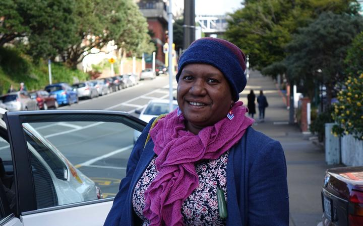 Rosa Moiwend, West Papuan reearcher and human rights defender.
