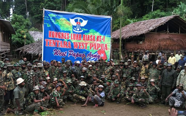 The newly formed United Liberation Movement for West Papua (ULMWP).