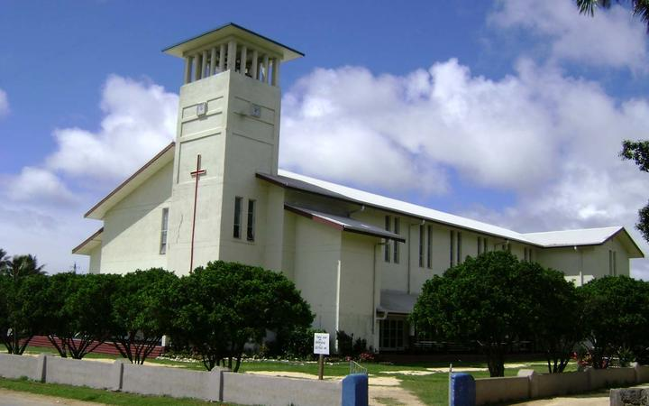 Saione, Kolomotu'a of the Free Wesleyan Church in Nuku'alofa