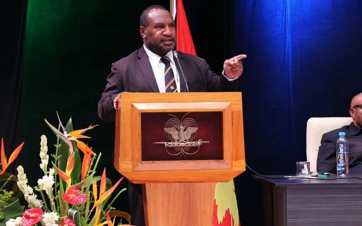Papua New Guinea prime minister James Marape, June 2019.
