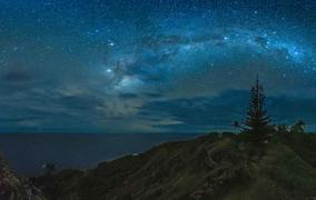 Pitcairn Island night sky