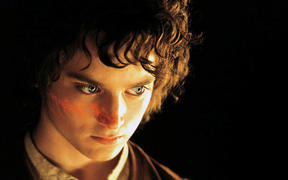 Elijah Wood in The Lord of the Rings: The Return of the King.