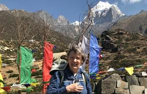 Helen Clark in Nepal on her recent trip