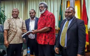 On 30 April 2019, members of Papua New Guinea's Ombudsman Commission delivered to the Speaker of Parliament, Job Pomat, its report into the UBS loan.