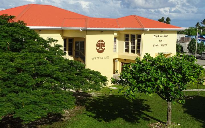 The High Court in Majuro, pictured, has seen a dramatic decline in international adoptions. While the High Court averaged 26 per year from 2011 through 2015, the number dropped to 10 in 2018 as illegal adoptions of Marshallese in the United States skyrocketed.