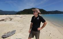 Wilsons' Abel Tasman chief executive Darryl Wilson on the beach at Awaroa, where his family had been since the 1860s.