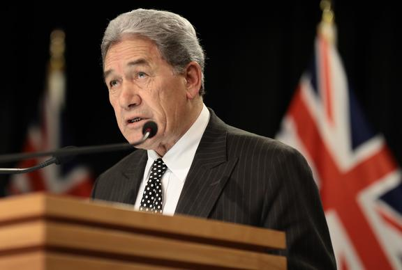 Winston Peters post Cabinet media conference 13 May 2019