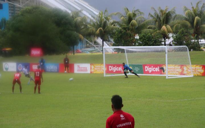 Sport: Goals galore as Pacific Games football kicks off