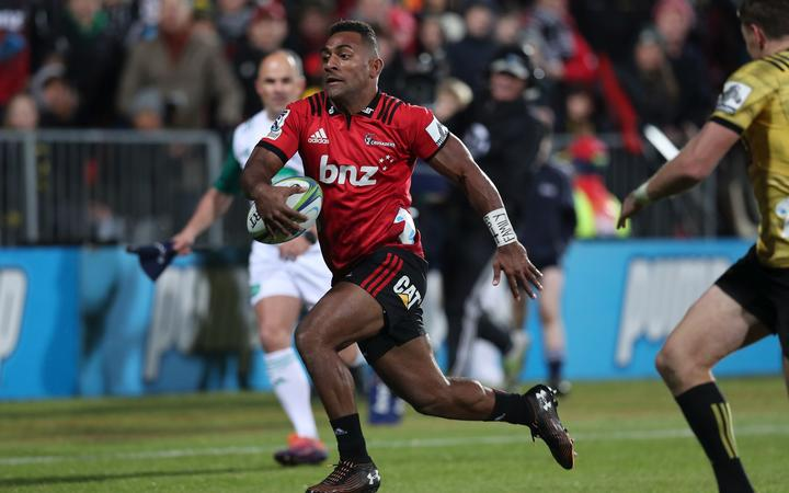 Steve Hansen said he's been impressed by the pace and try-scoring ability of the Nadi-born winger.