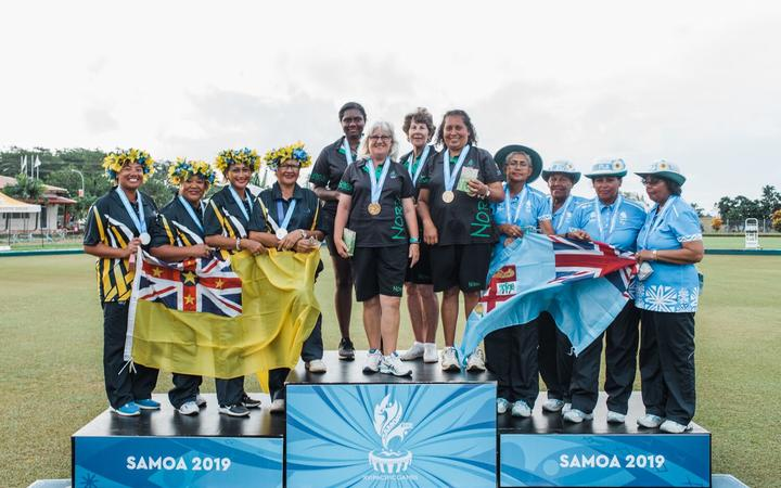 Sport: Gold and silver for Norfolk Island bowlers