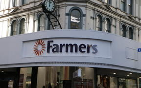 Farmers Queen Street signage