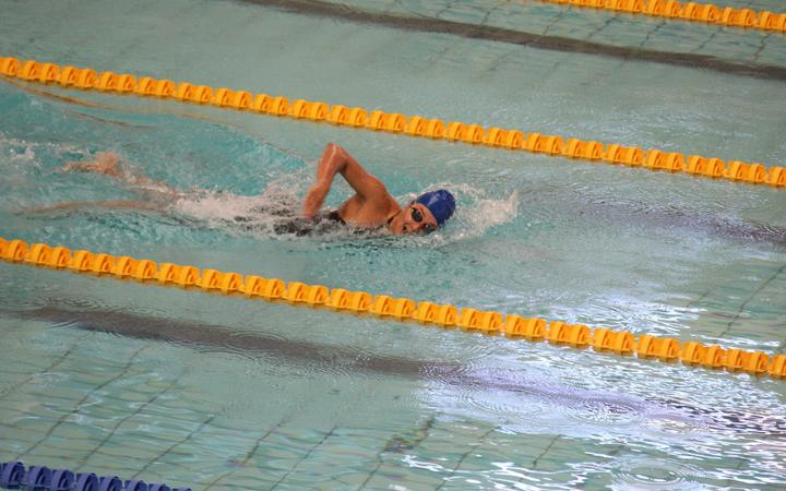 Samoa's Lauren Sale won gold in the women's 200m individual medley.