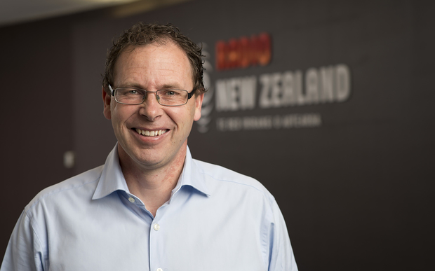 Radio NZ CEO Paul Thompson