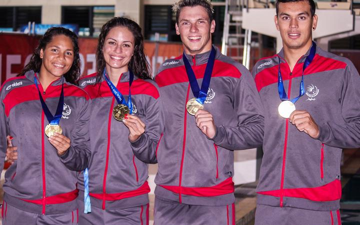 Pacific Games: New Caledonia lead at halfway point
