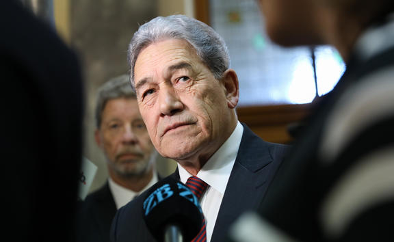 Deputy Prime Minister and leader of the New Zealand First Party Winston Peters