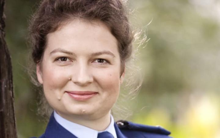 Victoria Kirichuk had been with NZ Police as a constable for four years when she says she was approached at a dinner party to access confidential information from the police database in exchange for money.