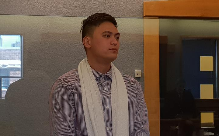 Ngatama Kaienua, 28, on trial at the Auckland High Court.
