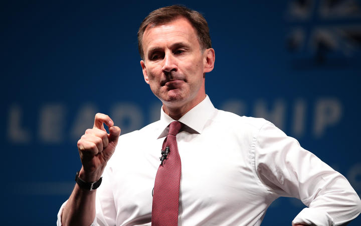 Conservative MP and leadership contender Jeremy Hunt.