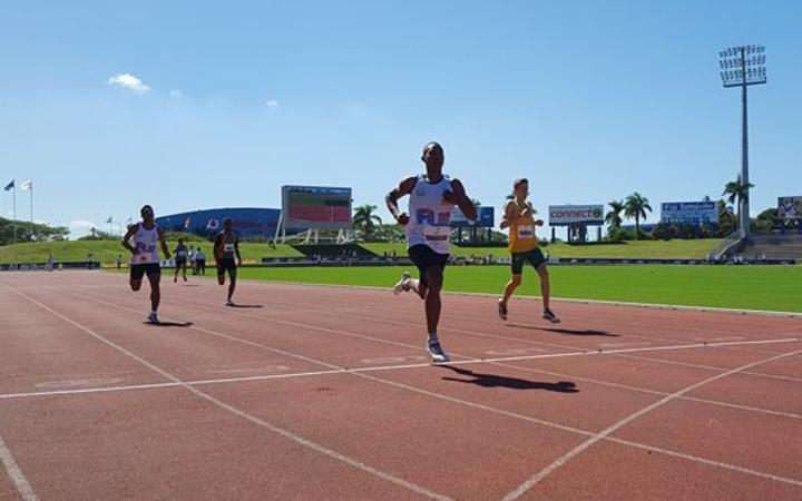 Sport: Pacific Games to crown fastest man