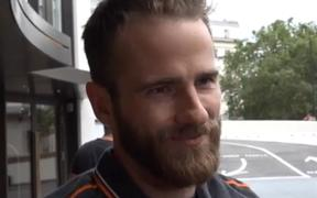 Kane Williamson says he's proud of the way the team went about the game.