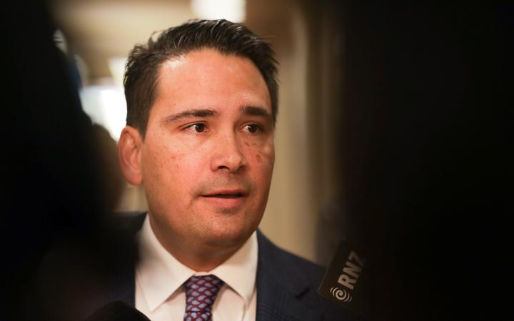 Simon Bridges pictured 21 May 2019