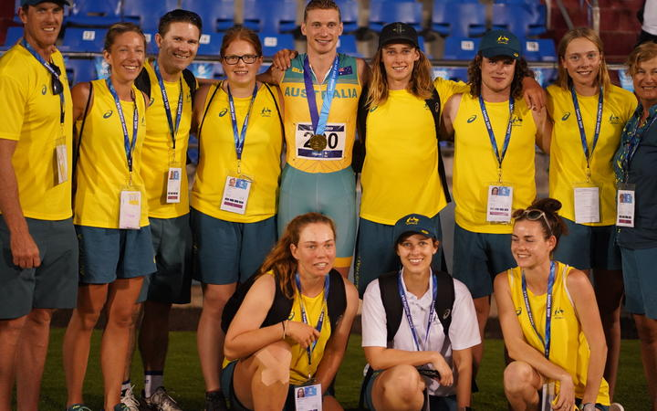 Sport: Australia climb to 2nd in Pacific Games medal tally