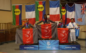 The French territory also picked up eight silver and five bronze medals over two dominant days of competition.