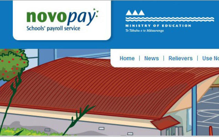 Novopay screen